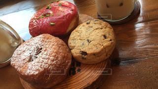 ドーナツ&クッキーの写真・画像素材[1485543]