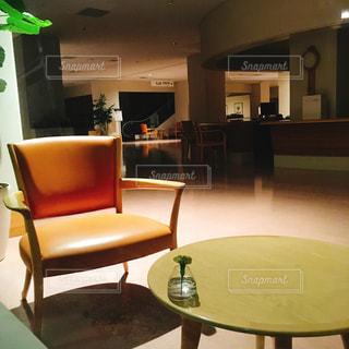 閉店後のカフェの写真・画像素材[1488305]