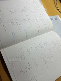 ノートですの写真・画像素材[1490437]