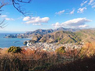 山と海の写真・画像素材[2960744]