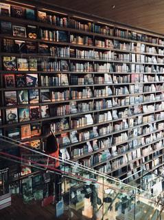 クローズ アップ図書の棚のの写真・画像素材[1482442]