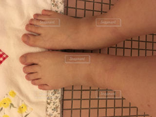 出産後の足のむくみの写真・画像素材[1482318]