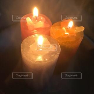 キャンドルの灯りの写真・画像素材[1482520]