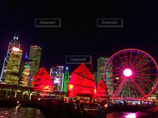 世界三大夜景の写真・画像素材[1482680]