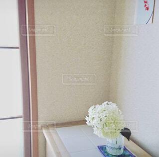 和室の花の写真・画像素材[1489928]