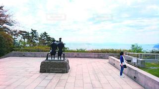 熱海のMOA美術館の外での写真・画像素材[1564016]