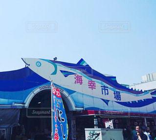 沼津港の魚市場の写真・画像素材[1567394]