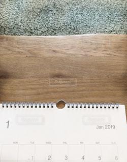 2019カレンダーの写真・画像素材[1647971]
