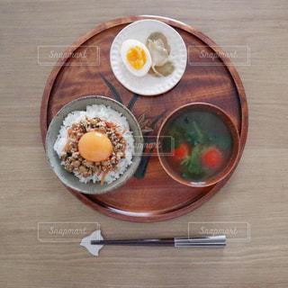和食な朝ごはんの写真・画像素材[2044966]