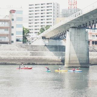 川でカヌー🛶沼津市の写真・画像素材[2095497]