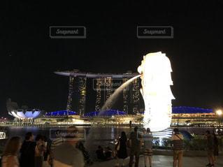 シンガポールの夜景の写真・画像素材[2122747]