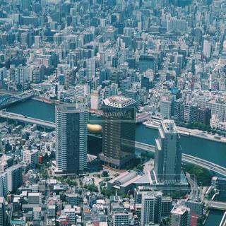 東京スカイツリーから見た東京の街並みの写真・画像素材[2156181]