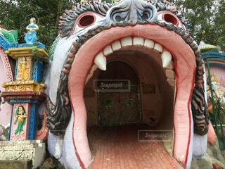 ヒンディー寺院の写真・画像素材[1484549]