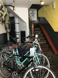 自転車店の写真・画像素材[1491915]
