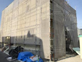 大きな白い建物の写真・画像素材[2335206]