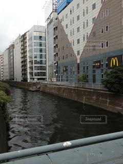 水道橋から見下ろす神田川の写真・画像素材[1487319]