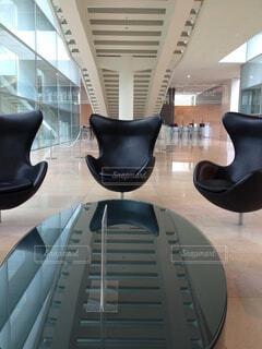 国立国会図書館 関西館の椅子の写真・画像素材[1526463]