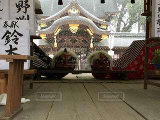 雪の初詣 今宮神社の写真・画像素材[1562220]