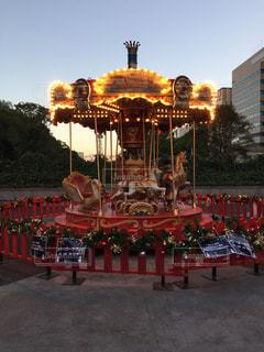 メリーゴーランド 名古屋クリスマスマーケット 2016の写真・画像素材[1593637]
