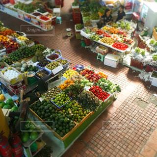 ベトナムのマーケットの写真・画像素材[1486368]