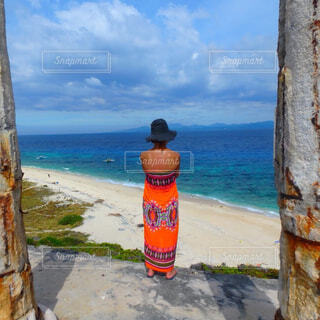 無人島の写真・画像素材[1487303]