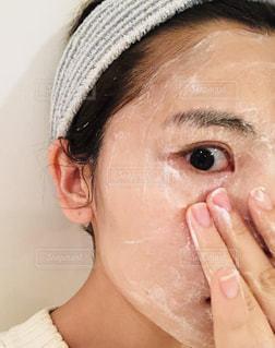洗顔の写真・画像素材[1875956]