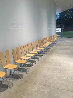 21世紀美術館のうさぎ椅子の写真・画像素材[1492841]