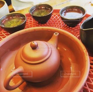 台湾の九份で、お茶会の写真・画像素材[1489097]