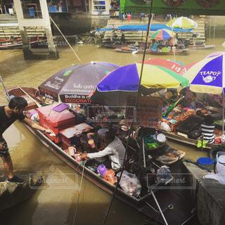 タイの水上マーケットへの写真・画像素材[1489253]