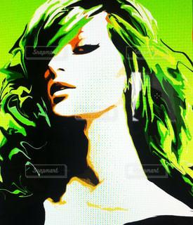 緑の女の写真・画像素材[1489210]