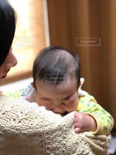 お母さん大好きな赤ちゃんの写真・画像素材[1510412]