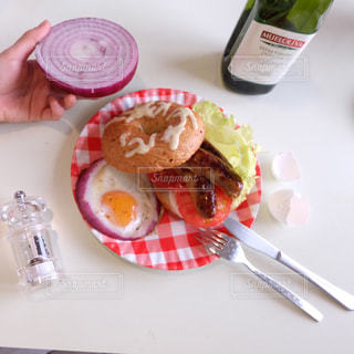 ハンバーガーの写真・画像素材[652275]
