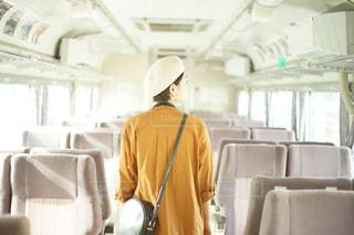 帽子をかぶった女の写真・画像素材[757172]