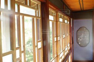 ガラスのドアの写真・画像素材[1038684]
