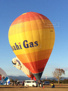熱気球の写真・画像素材[1832849]