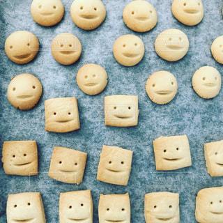 お顔クッキーたちの写真・画像素材[1534814]