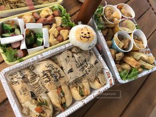 ピクニックお弁当の写真・画像素材[1572056]