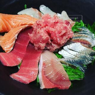 海鮮丼の写真・画像素材[1497679]