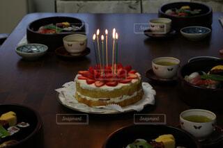 イチゴショートケーキの写真・画像素材[1498913]