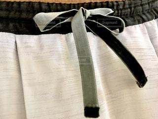 リボンを結んだ生地の写真・画像素材[1520086]