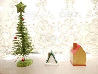 クリスマスの小物たちの写真・画像素材[1495483]