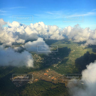 GUAM上空の写真・画像素材[1495611]