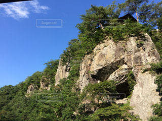 空と岩壁の写真・画像素材[1495901]