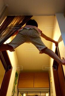 天井まで登れるよの写真・画像素材[1496501]