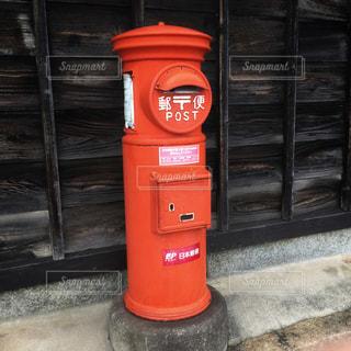 レトロな郵便ポストの写真・画像素材[2378391]