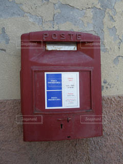 イタリアのポストの写真・画像素材[2389404]