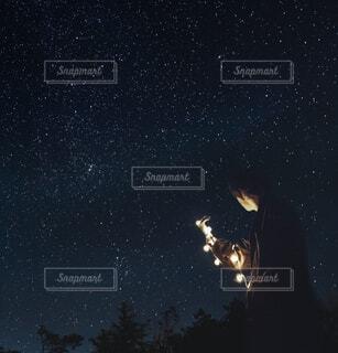 秋夜空の写真・画像素材[1496719]