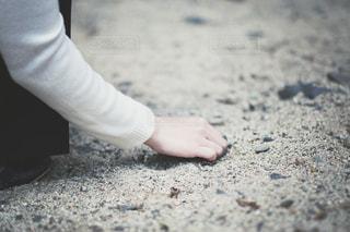 砂浜での写真・画像素材[1745879]