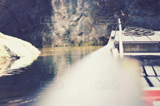 猊鼻渓で川下りの写真・画像素材[1745883]