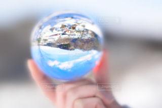 水晶越しの世界の写真・画像素材[1746237]